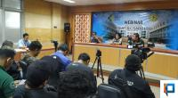 Pihak RSUP Dr Sardjito memberi keterangan pers terkait adanya isu virus corona di Yogyakarta