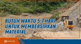 Musim Hujan, Waspada Jika Melewati Jalur Alternatif Padang-Bukittinggi Via Malalak