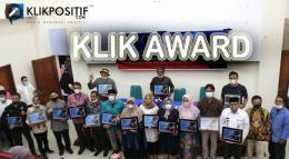 Anugerah KLIKPOSITIF Award di Bukittinggi
