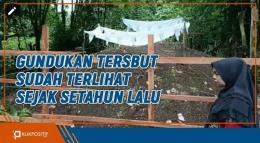 Heboh, Kuburan Tiba-tiba Meninggi di Padang Pariaman